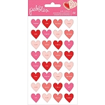 Loves Me Conversation Hearts Puffy Stickers