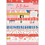 La La Love 6x8 Card Making Paper Pad