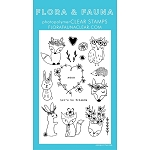 Bohemian Woodland Animals Stamp Set