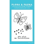 Mini You Give Me Butterflies Stamp Set
