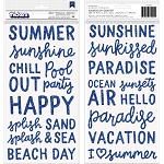 Oh Summertime Splash Phrase Thickers