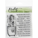 Lorynne Girl Stamp Set