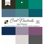 Cool Neutrals 6x6 Cardstock Stack
