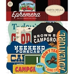 Gone Camping Icons Ephemera