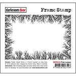 Pine Leaves Frame Stamp