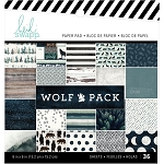 Wolf Pack 6x6 Paper Pad