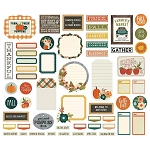 Fall Farmhouse Journaling Bits & Pieces