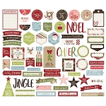 Holly Jolly Journaling Bits & Pieces