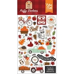 My Favorite Fall Puffy Stickers