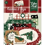 A Cozy Christmas Frames & Tags Ephemera