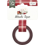 A Cozy Christmas Christmas Plaid Washi Tape