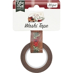 A Cozy Christmas Floral Swag Washi Tape