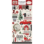 Christmas Market Accents Chipboard
