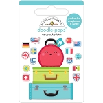 I Heart Travel Pack Your Bags Doodle Pops
