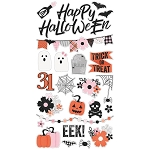 Happy Haunting Chipboard Stickers