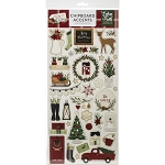 A Cozy Christmas Accents Chipboard