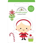Christmas Magic Mrs. Claus Doodle Pops