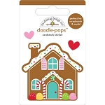 Christmas Magic Cookie Cottage Doodle Pops