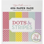 Dots & Stripes Spring 6x6 Paper Pad