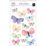 Bloom Street Butterfly Dimensional Stickers