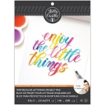 Watercolor Brush Lettering Paper Pad
