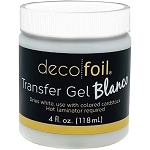 Deco Foil Transfer Gel Blanco