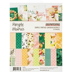 Simple Vintage Garden District 6x8 Paper Pad