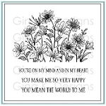 On My Mind and In My Heart Stamp Set