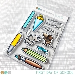 First Day of School Stamp Set