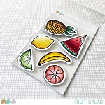 Fruit Salad Stamp Set