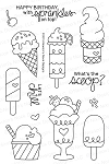 Summer Scoops Stamp Set