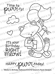 Newton's Birthday Balloons Stamp Set