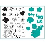 Tropical Blooms Stamp & Die