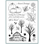 Rustic Autumn Stamp Set