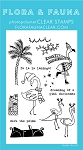 Flamingo Holiday Stamp Set