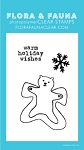 Mini Polar Snow Angel Stamp Set