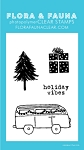 Mini Holiday Van Stamp Set