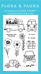 Car Garden Stamp Set