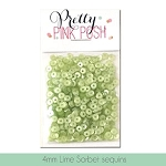4mm Lime Sorbet Sequins