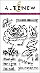 Penned Rose Stamp Set