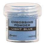 Light Blue Embossing Powder