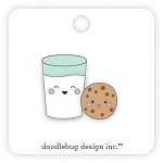 Collectible Pin Milk & Cookies