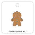 Collectible Pin Gingerbread Man