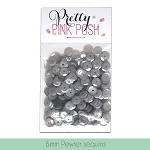 6mm Pewter Sequins
