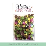 6mm Royal Garden Sequins Mix