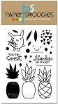 Pineapple Crush Stamp Set