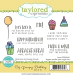 Big Grumpy - Birthday Stamp Set