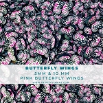 Butterfly Wings - Pink Clay Sprinkles Mix
