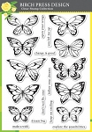 Lovely Butterflies Stamp Set