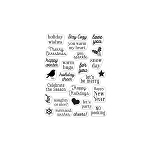 Hero Greetings Christmas Messages Stamp Set